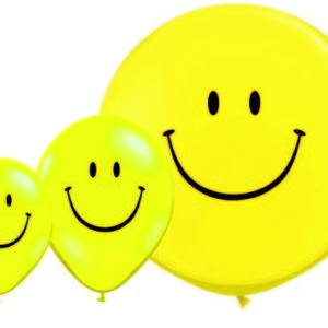 ballon smiley