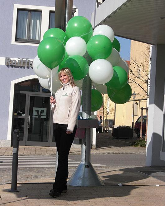 eventtalen ballon verteilung luft werbetraeger grosse ballons verteilerstation