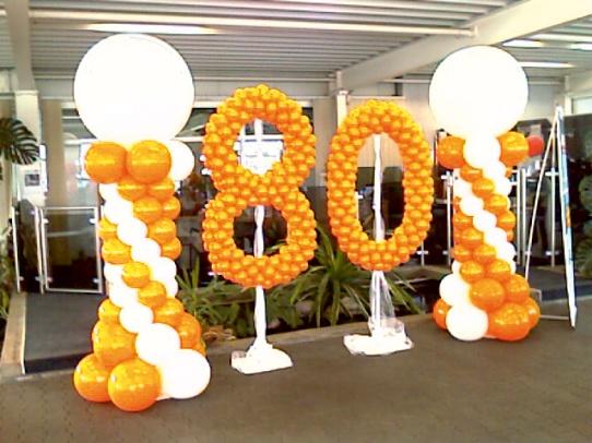 eventtalent ballonservice jubilaeum ballonzahl ballon dekoration
