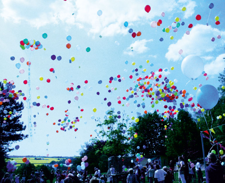 eventtalent ballonservice ballon massenstart helium bunt