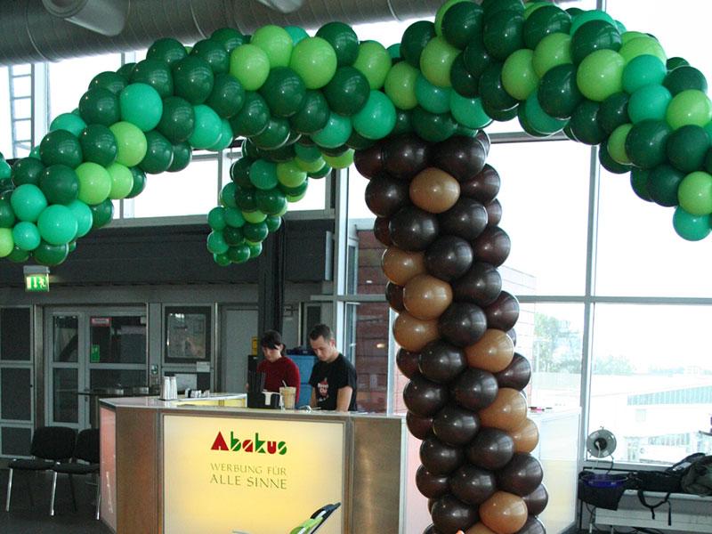 eventtalent balondekoration ballonfigur ballonpalme palme ballons