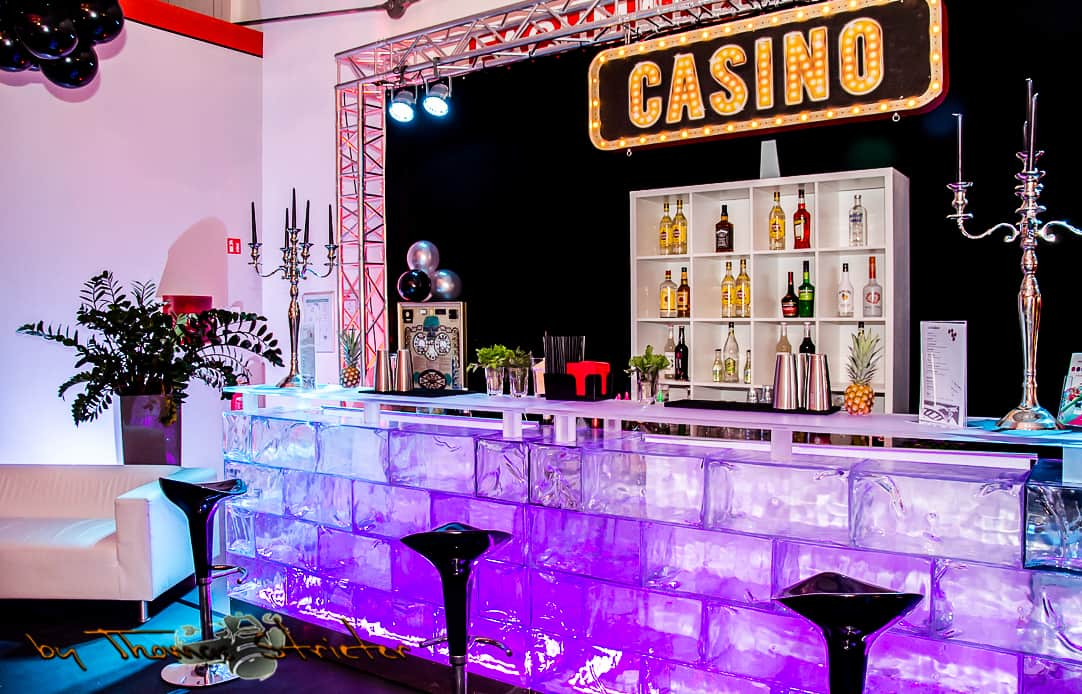 eventtalent thema event casino flair bar catering nacht deko