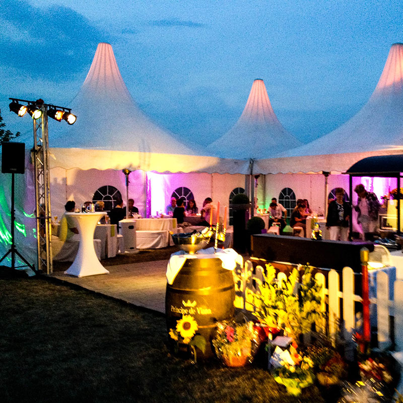 eventtalent pagoden sommerfest beachbar location catering