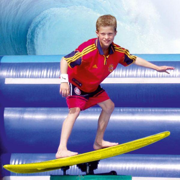 Surfsimulator - Event Talent Webkatalog Attraktionen