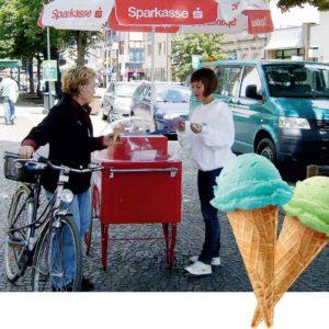Mobiler Eisstand von Event Talent