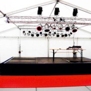 Bühnenpodest mieten von Event Talent